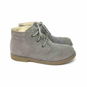 Skechers Boys Chukka Boots Beige 94080L Suede 5